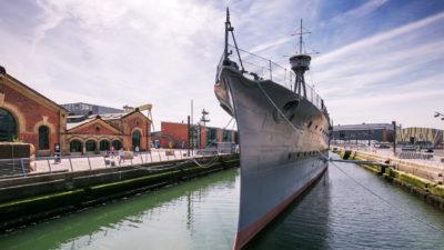 HMS Caroline Logo