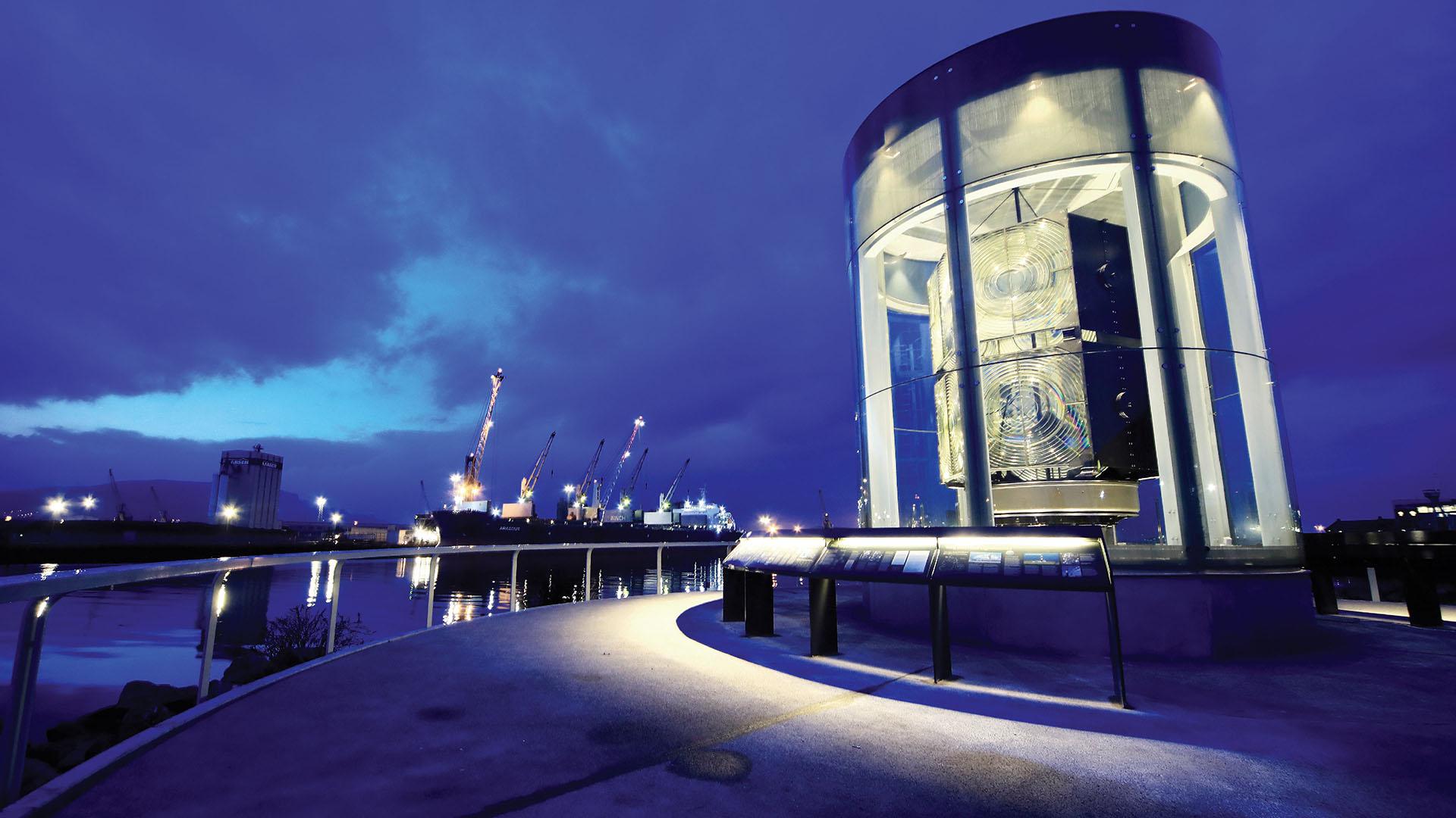 Maritime Mile The Great Light Belfast