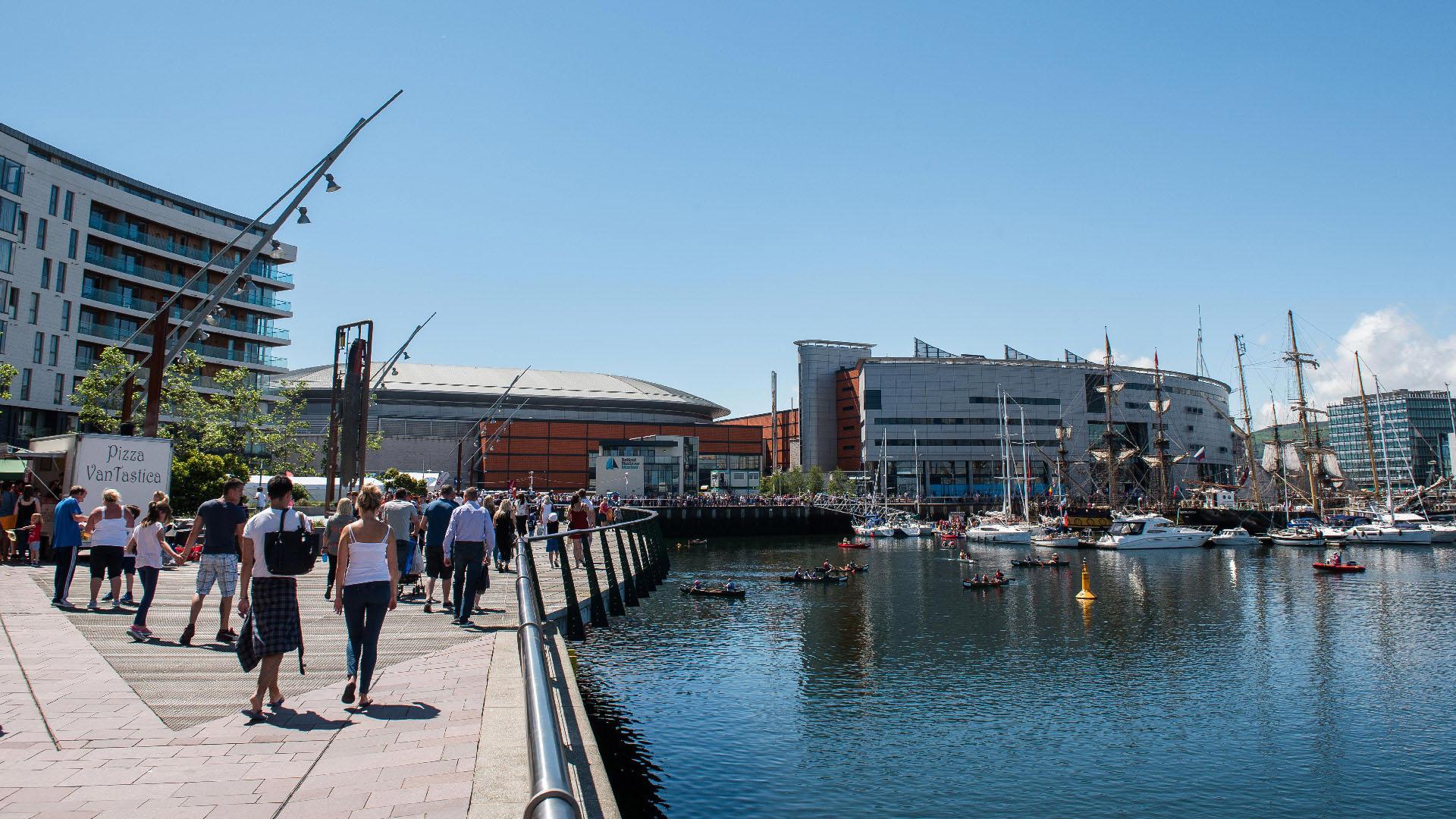 Maritime Mile - Neighbourhood - Titanic Quarter