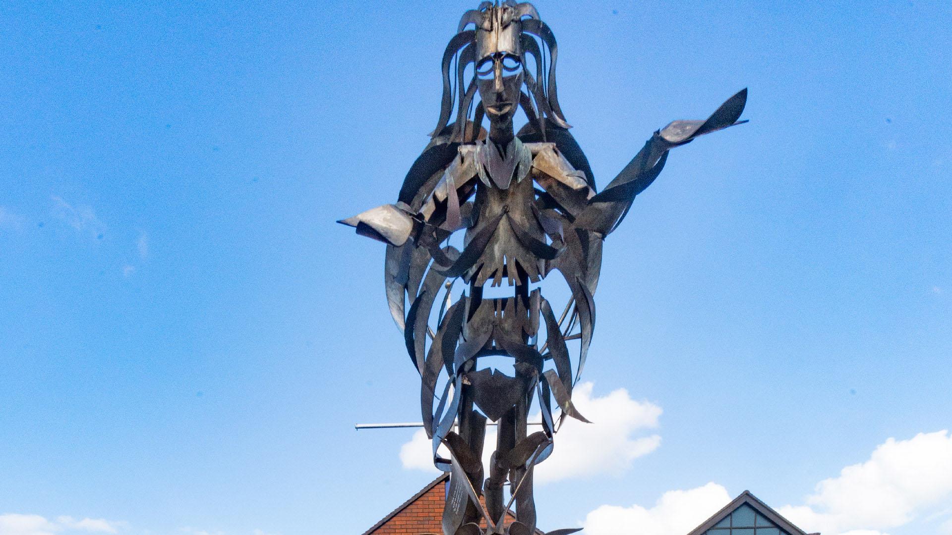 Maritime Mile - Public Art - Angel