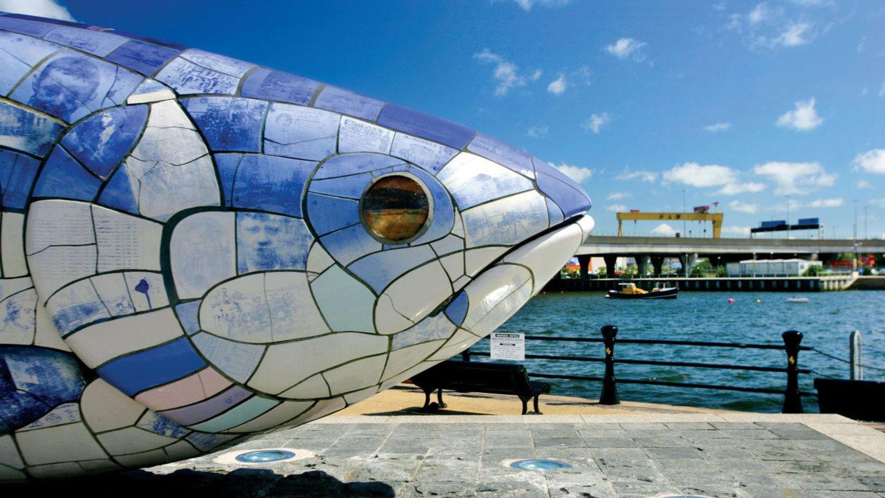 Maritime Mile - Public Art - Big Fish