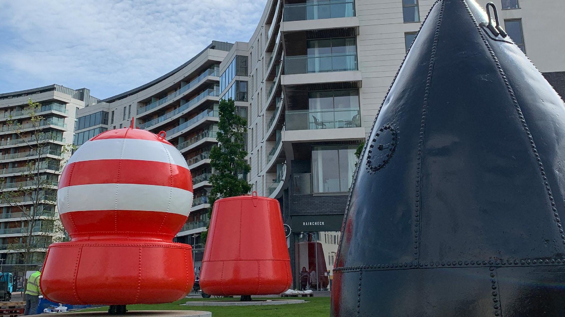 Maritime Mile - Public Art - Buoys