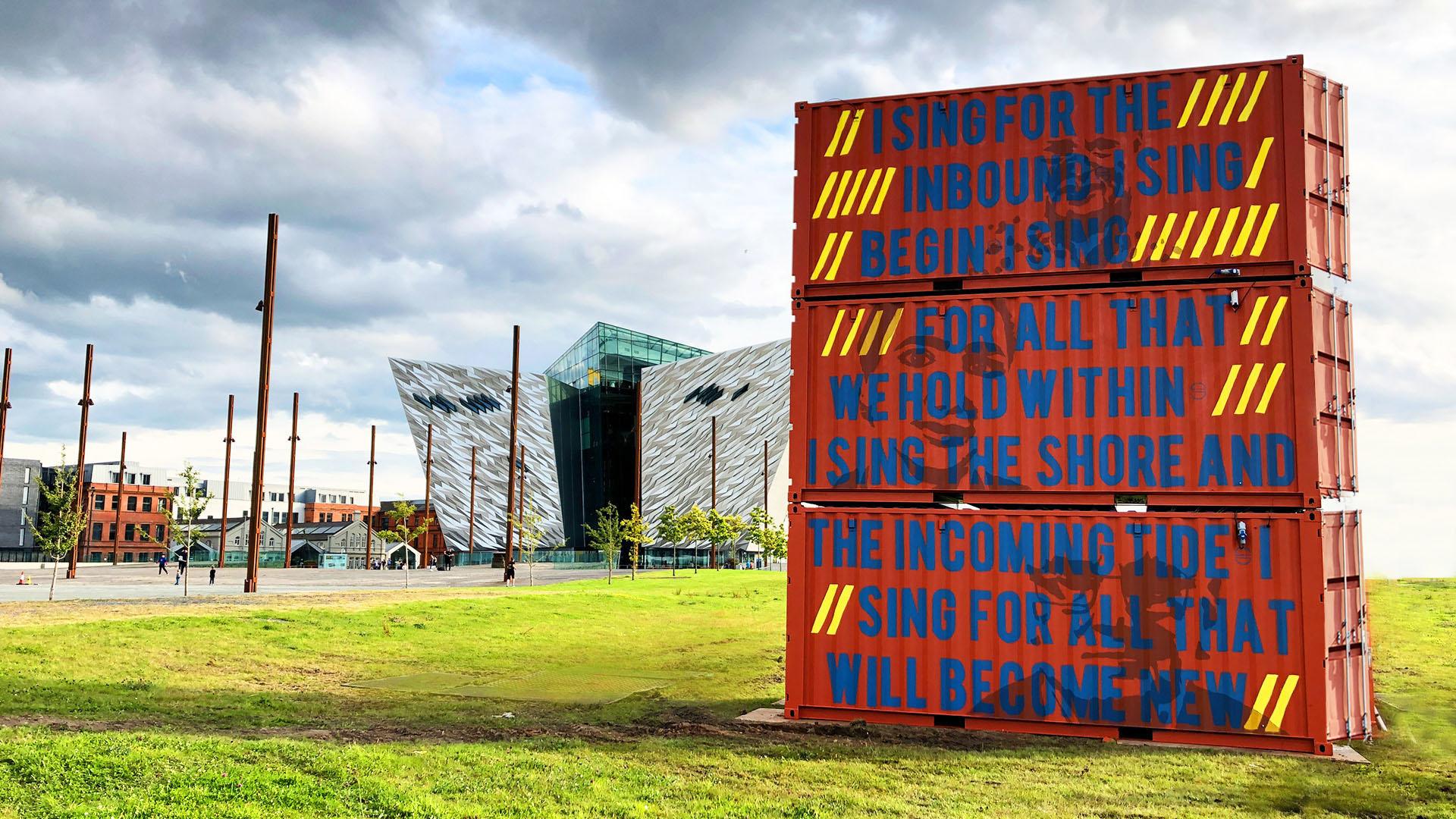 Maritime Mile - Public Art - Riverbox