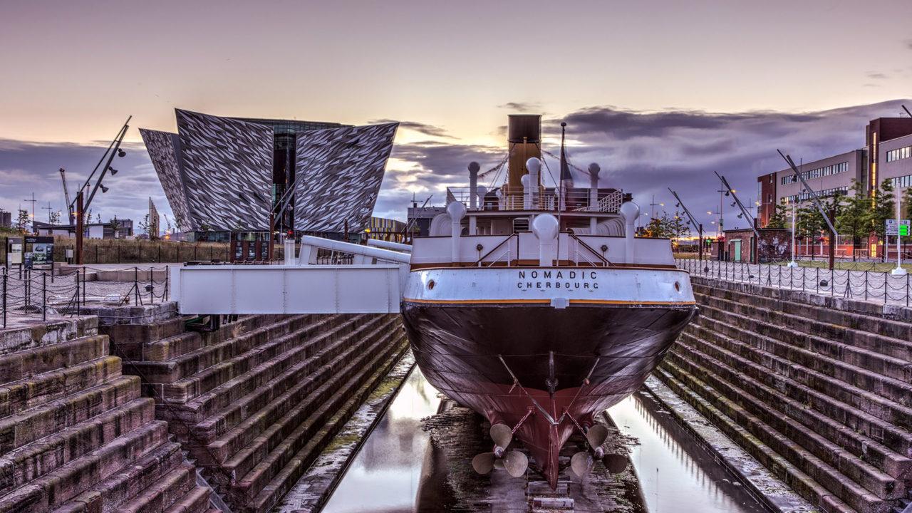 Maritime Mile Titanic Belfast and SS Nomandic