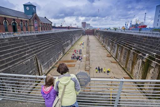 Titanic Tours belfast Maritime Mile