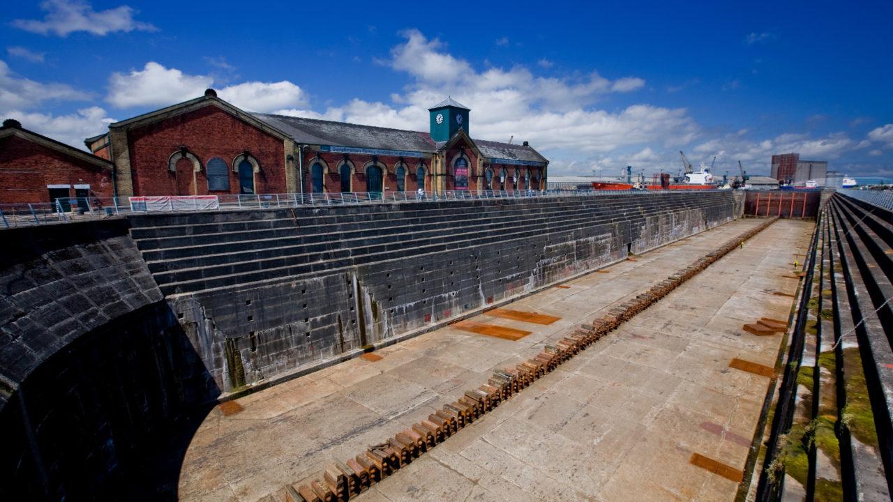 Titanic's Dock & Pump-House