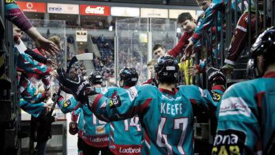 Belfast Giants at The SSE Arena, Belfast Logo