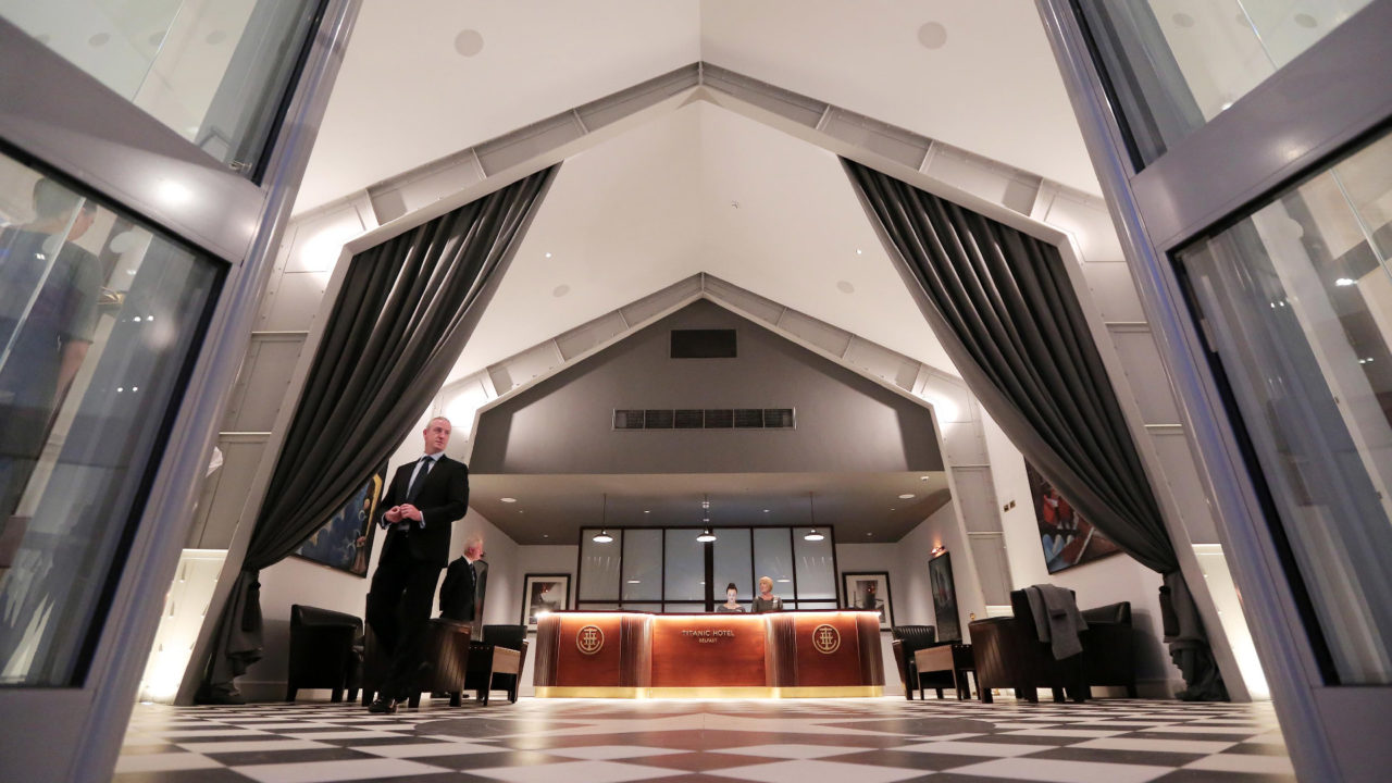 Titanic Hotel Lobby