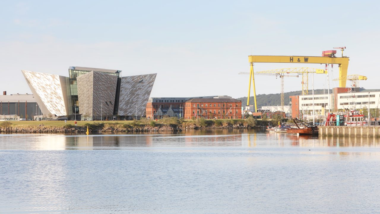 Maritime Mile Belfast Titanic Belfast Harland and Wolff Drawing Offices